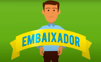 Banner do Vídeo de Embaixador